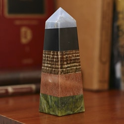 Gemstone 'Life Force' Obelisk (Peru)