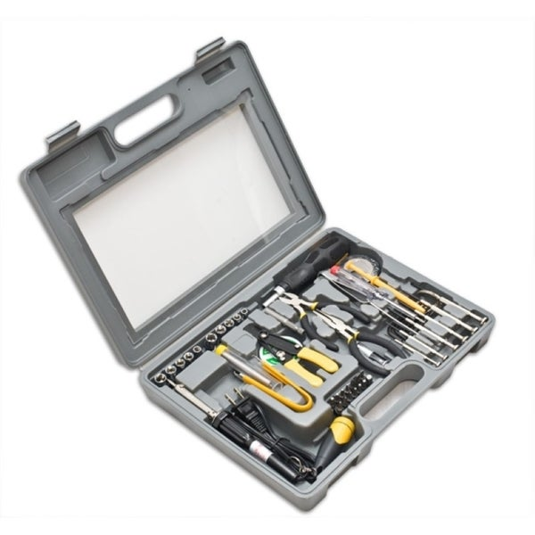 Syba 56 Pieces Computer Tool Kit Heavey Duty Moulded Case with Clear Cover