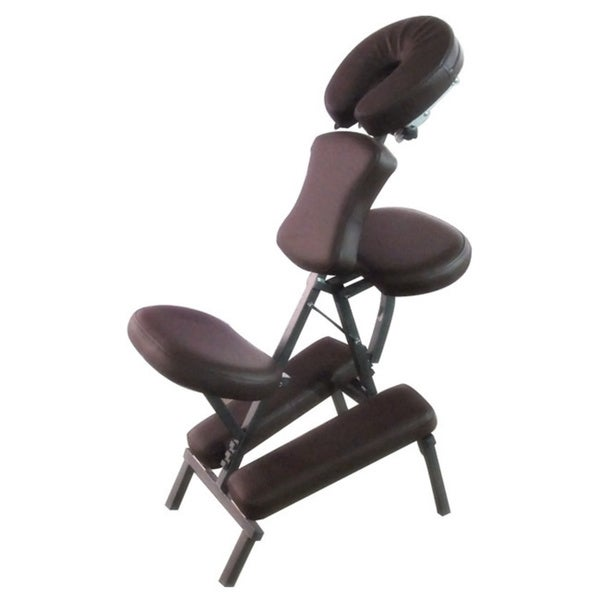 Portable Massage Chocolate Brown Folding Chair