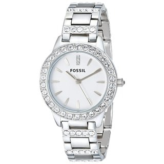 "Fossil Women's ES2362 ""Glitz"" Crystal Stainless Steel Watch"