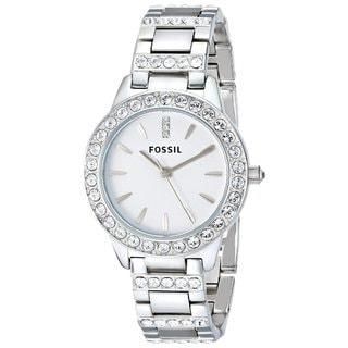 "Fossil Women's ES2362 ""Glitz"" Crystal Stainless Steel Watch"