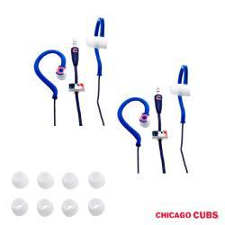 Nemo Digital MLB Chicago Cubs Jogger Earphones (Case of 2)