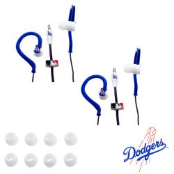 Nemo Digital MLB Los Angeles Dodgers Jogger Earphones (Case of 2)