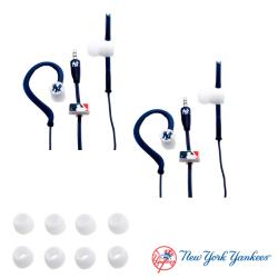 Nemo Digital MLB New York Yankees Jogger Earphones (Case of 2)