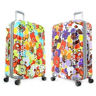 Olympia Blossom 29-inch Fashion Hardside Spinner Upright