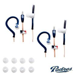 Nemo Digital MLB San Diego Padres Jogger Earphones (Case of 2)