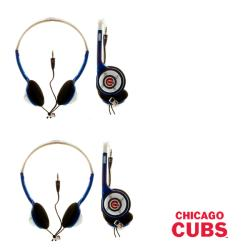 Nemo Digital MLB Chicago Cubs Overhead-Style Headphones (Case of 2)