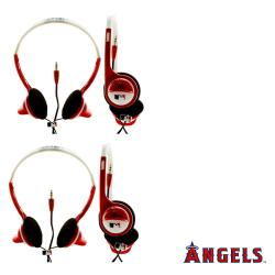 Nemo Digital MLB Los Angeles Angels Headphones (Case of 2)
