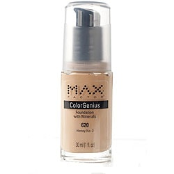 Max Factor Color Genius # 620 Honey No. 2 Foundation (Pack of 4)