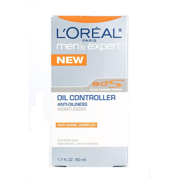 L'Oreal Men's Expert Oil Controller Anti-oiliness 1.7-oz Moisturizer (Pack of 4)