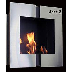 Wall Mounted Jazz 2 Bio Ethanol Fireplace