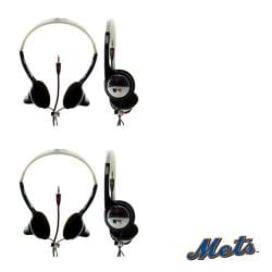 Nemo Digital MLB New York Mets Overhead Headphones (Case of 2)
