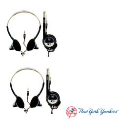 Nemo Digital MLB New York Yankees Overhead Headphones (Case of 2)
