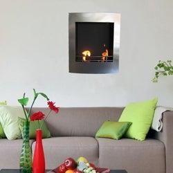 Wall Mounted Blisso Bio Ethanol Fireplace
