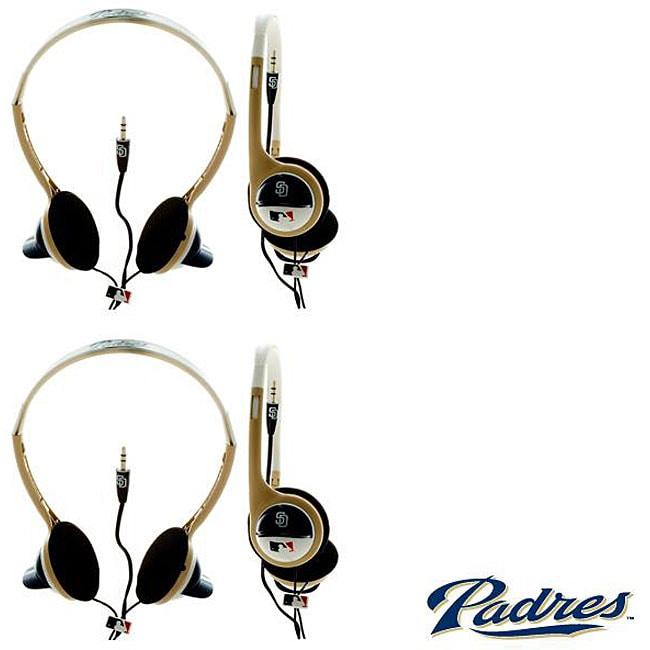 Nemo Digital MLB San Diego Padres Overhead Headphones (Case of 2)