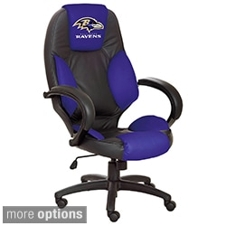 NFL Logo Leather Office Chair