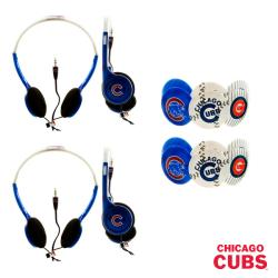 Nemo Digital MLB Chicago Cubs Headphones (Case of 2)