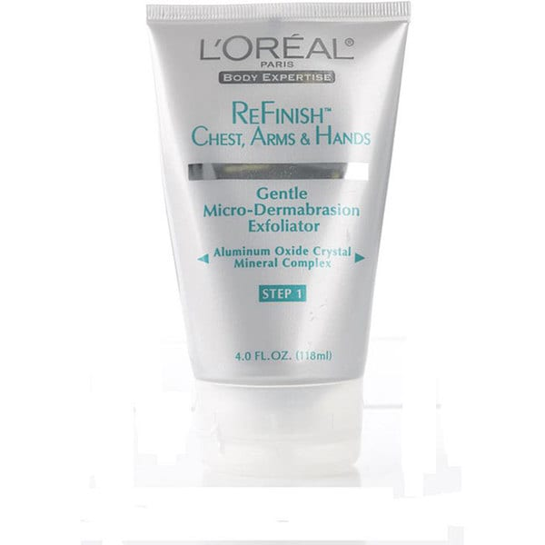 L'Oreal 4-ounce ReFinish Gentle Microdermabrasion Exfoliator (Pack of 4)