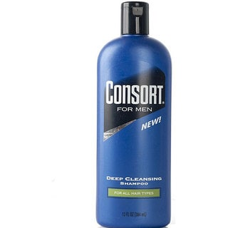 Consort For Men 13-ounce Deep Cleansing Shampoo (Pack of 4)