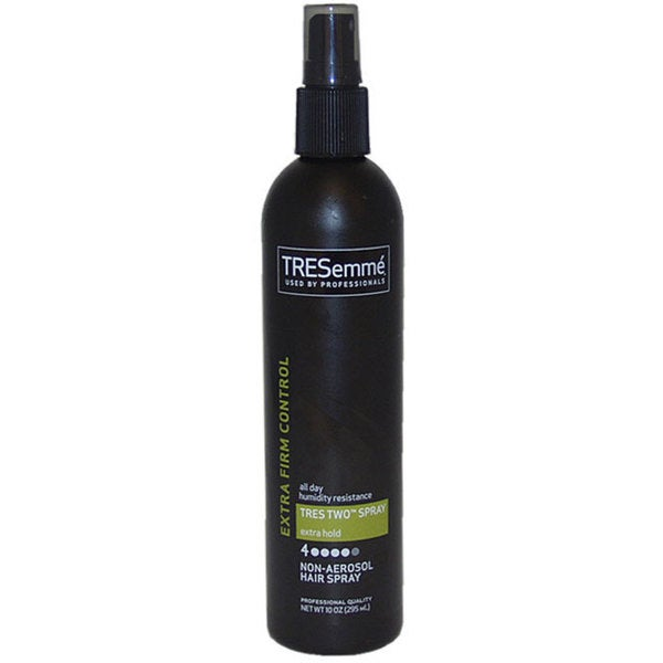 Tres Two Extra Hold Extra Firm Control Hair Spray by Tresemme for Unisex - 10-ounce