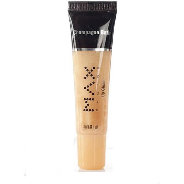 Max Factor Maxalicious #200 Champagne Bath Naughty Lip Gloss (Pack of 4)