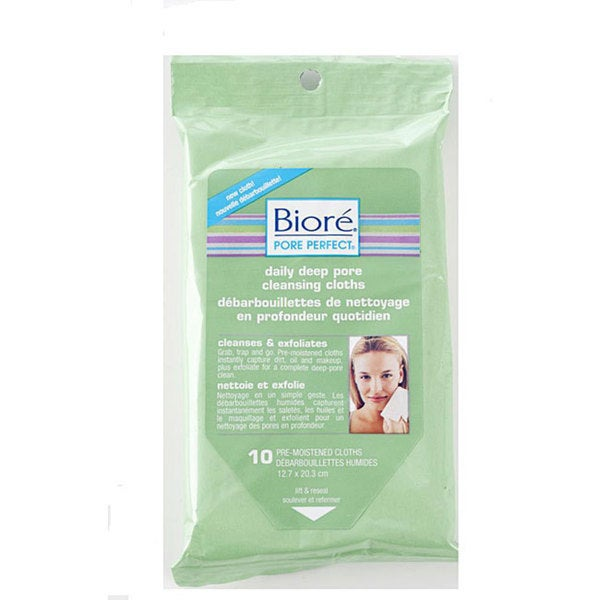 Biore 'Pore Perfect' Deep Pore Cleansing Cloths (Set of 4)