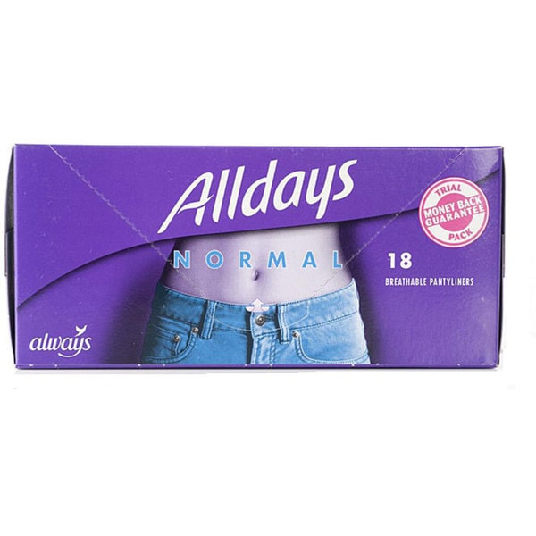 Alldays Breathable Pantyliners (Pack of 4)