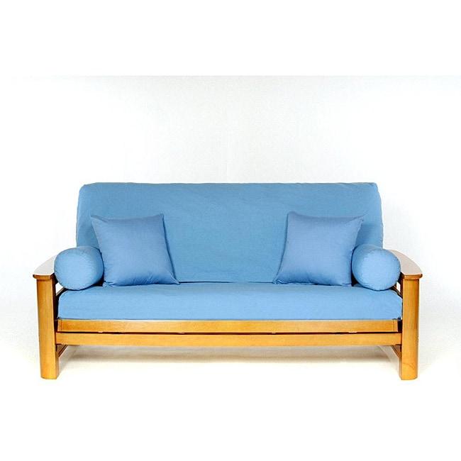 bluebonnet full size futon cover 12936340 overstock