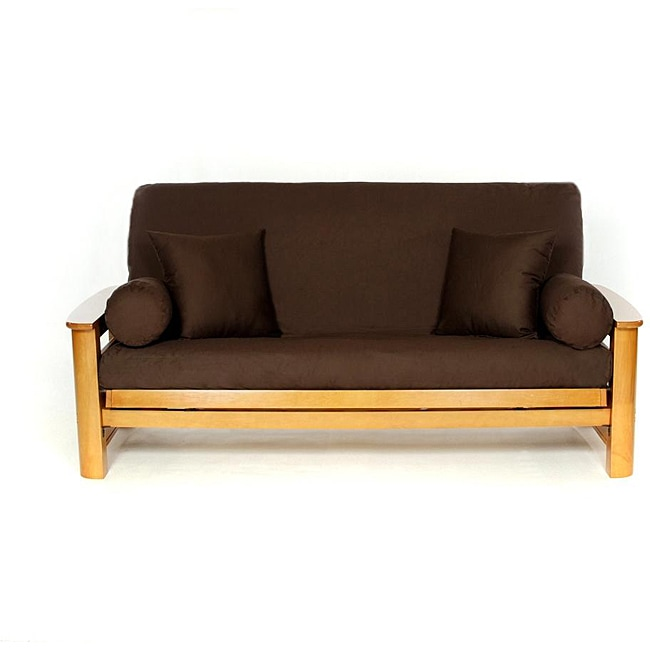 Brown Full size Futon Cover Overstock