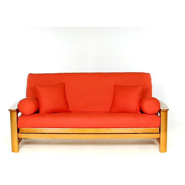 Orange Full-size Futon Cover