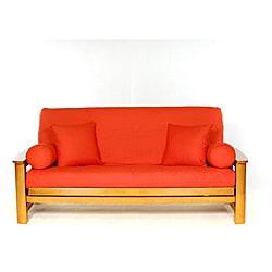 Orange Full-size Futon Cover