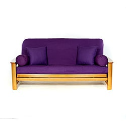 Purple Full-size Futon Cover
