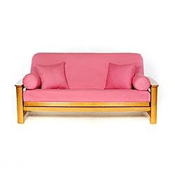 Roseblush Pink Full-size Futon Cover