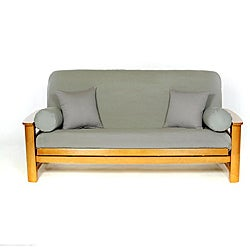 Smoke Grey Full-size Futon Cover