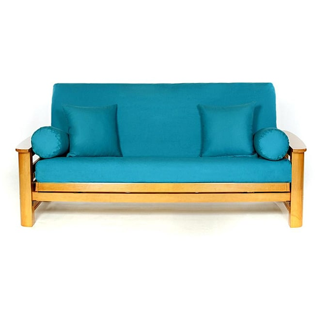 Teal Full-size Futon Cover