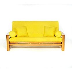 Yellow Full-size Futon Cover