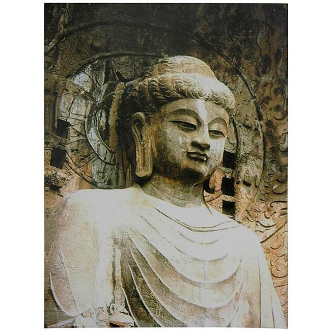 Gautama Buddha Statue Canvas Wall Art (China)