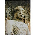 Gautama Buddha Statue Canvas Wall Art (China)