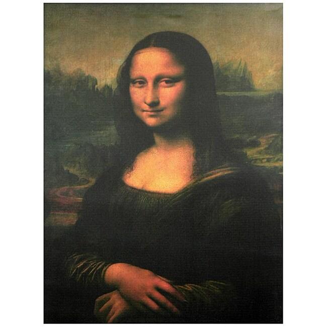 Da Vinci 'Mona Lisa' Canvas Wall Art (China)