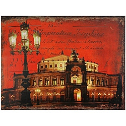 German Opera House Canvas Wall Art (China)