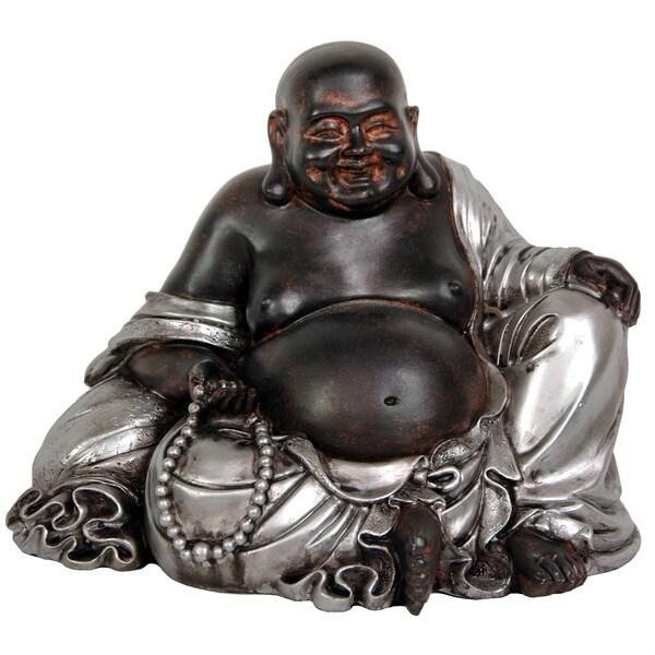Sitting 7-inch Lucky Buddha Statue (China)