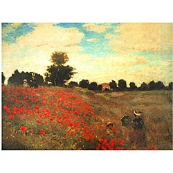 Monet 'Poppies' Canvas Wall Art (China)