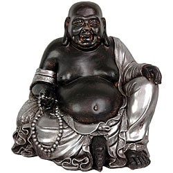 Sitting 11.5-inch Happy Buddha Statue (China)