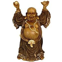 Standing 12.5-inch Prosperity Buddha Statue (China)