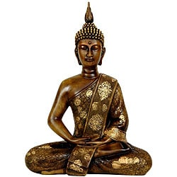 Thai Sitting 11.5-inch Buddha Statue (China)