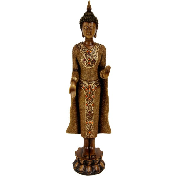 Standing 20-inch Thai Buddha Statue (China)