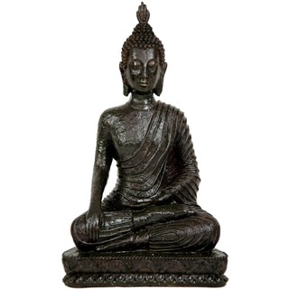 Laotian 10-inch Sitting Buddha Statue (China)