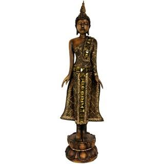 Standing 22.5-inch Thai Buddha Statue (China)