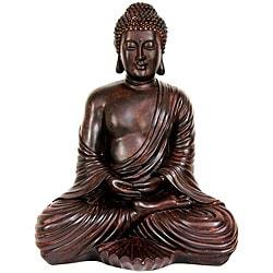 Large 17-inch Japanese Sitting Buddha Statue (China)