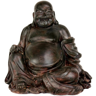 Sitting 11.5-inch Lucky Buddha Statue (China)